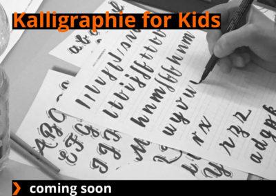 Kids Kalligraphie