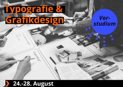 Typografie und Grafikdesign
