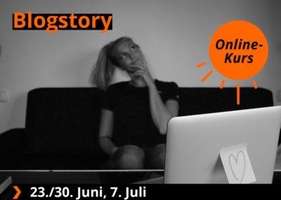 Blogstory – Dein Einstieg in die Welt des Bloggens